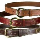 Dark Brown Gun Belt