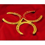 Brass Horseshoe Trivet