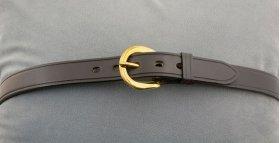 "Black 1"" Belt"