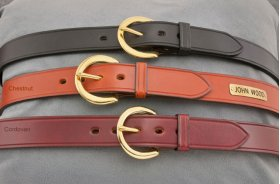 "Fennell's 1 1/4"" Leather Harness Belt"