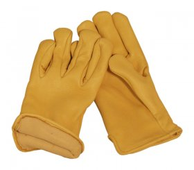 Thinsulate Lined Elkskin Gloves