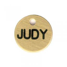 Halter Disc Nameplate