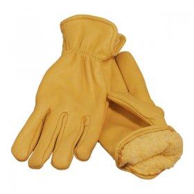 Pile Lined Deerskin Gloves