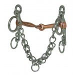 Tom Thumb Copper Snaffle Pelham Bit