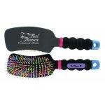 Curved Handle Rainbow Brush
