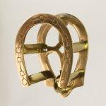 Brass Horseshoe Bridle Rack