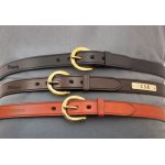 "Fennell's 1"" Leather Harness Belt"