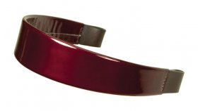 #400 Sparkle Burgundy Tapered