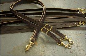 Solid Leather Sidechecks