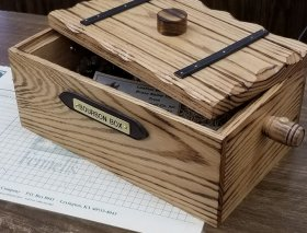Bourbon keepsake box