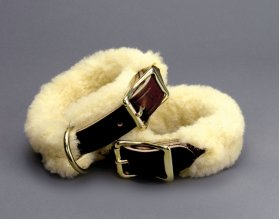 Shackle Cuffs with Fleece Covers