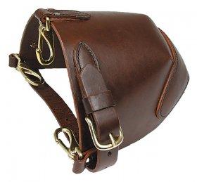 Leather Halter Bib