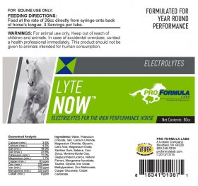 Lyte Now Label