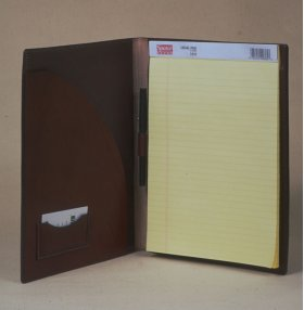 Legal Pad Cover - inside