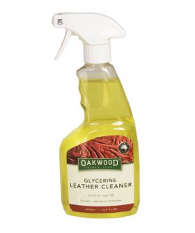 Oakwood Glycerine Leather Cleaner Spray