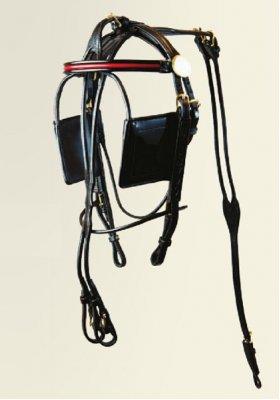 Roadster Pony Blind Bridle